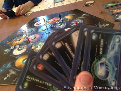 Settlers of Catan Star Trek review