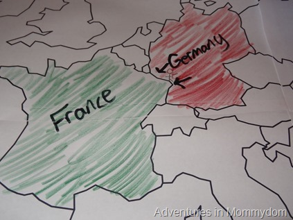 start of World War 2 Germany takes France