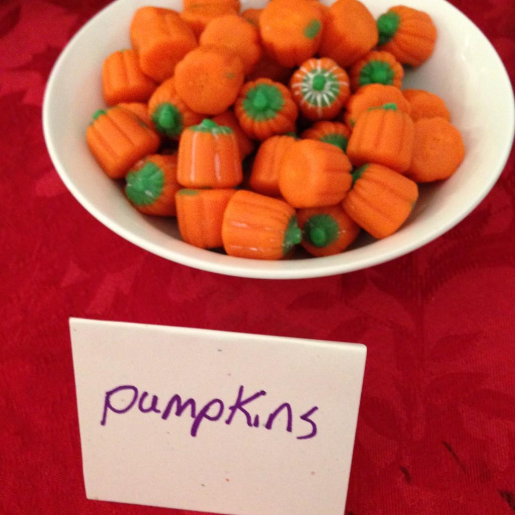 Ella Enchanted snack pumpkin candy corn