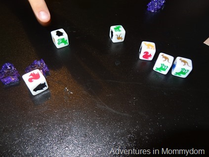 Fistful of Penguins dice