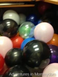 Balloon bomb!