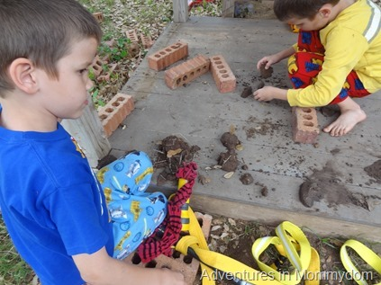 making fairy houses