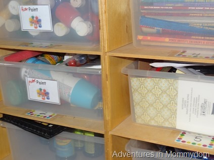 plastic shoeboxes for organizing craft supplies