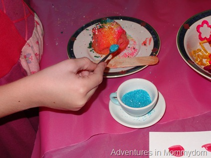 decorate cupcakes for activity