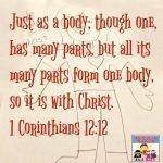1 Corinthians 12 12