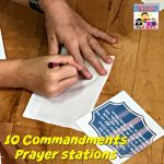 10 Commandments prayer stations