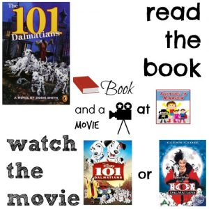 101 Dalmatians book and a movie feature 4th grade