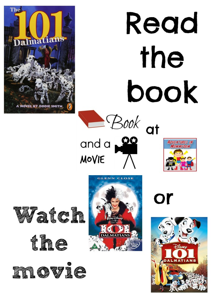101 Dalmations book turned into a movie