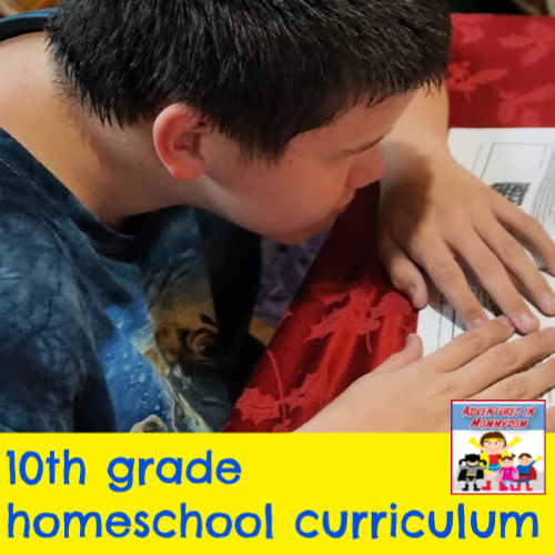 10th grade curriculum for homeschooling
