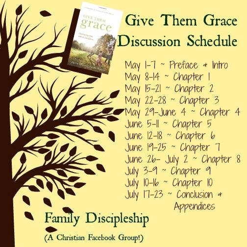 family discipleship give them grace