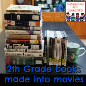 12th grade books made into movies feature
