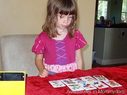 Can You See What I See? preschool game
