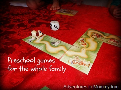 preschool games for the whole family