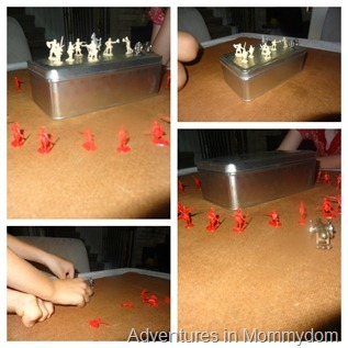 toy soldiers to learn history