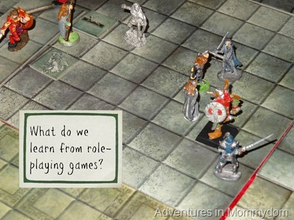 what do we learn from role playing games