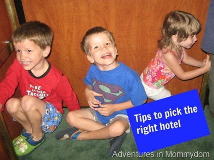 Tips to pick the right hotel for kids