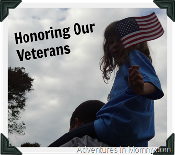 learning about Veteran's Day