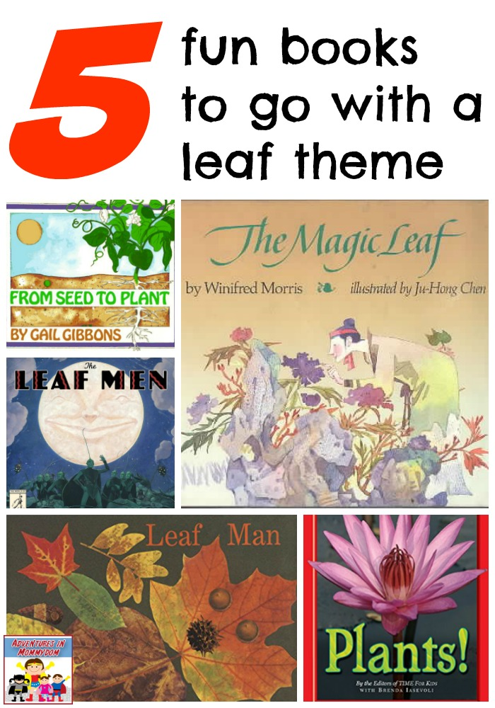 5 books to go with a leaf theme