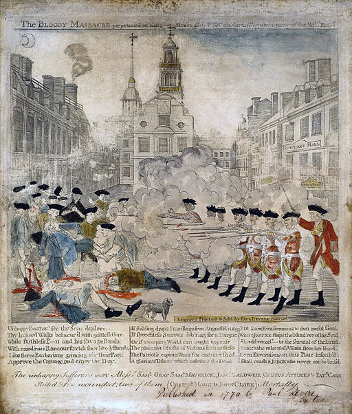 Paul Revere Boston Massacre