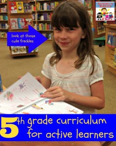 Homeschool curriculum for active learners (5th grade)