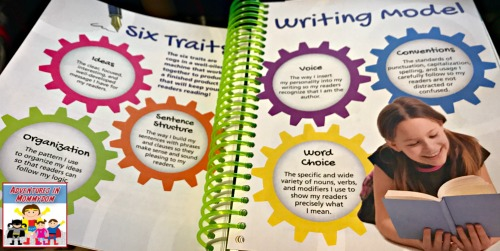 6 traits writing in Writers in residence