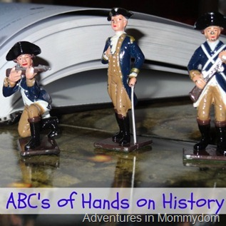 A to Z of hands on history, Knights, Sons of Liberty, Map it Out, Native Americans, and Orbit
