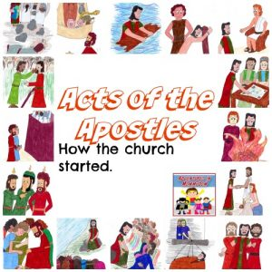 Acts of the Apostles Bible lessons for kids