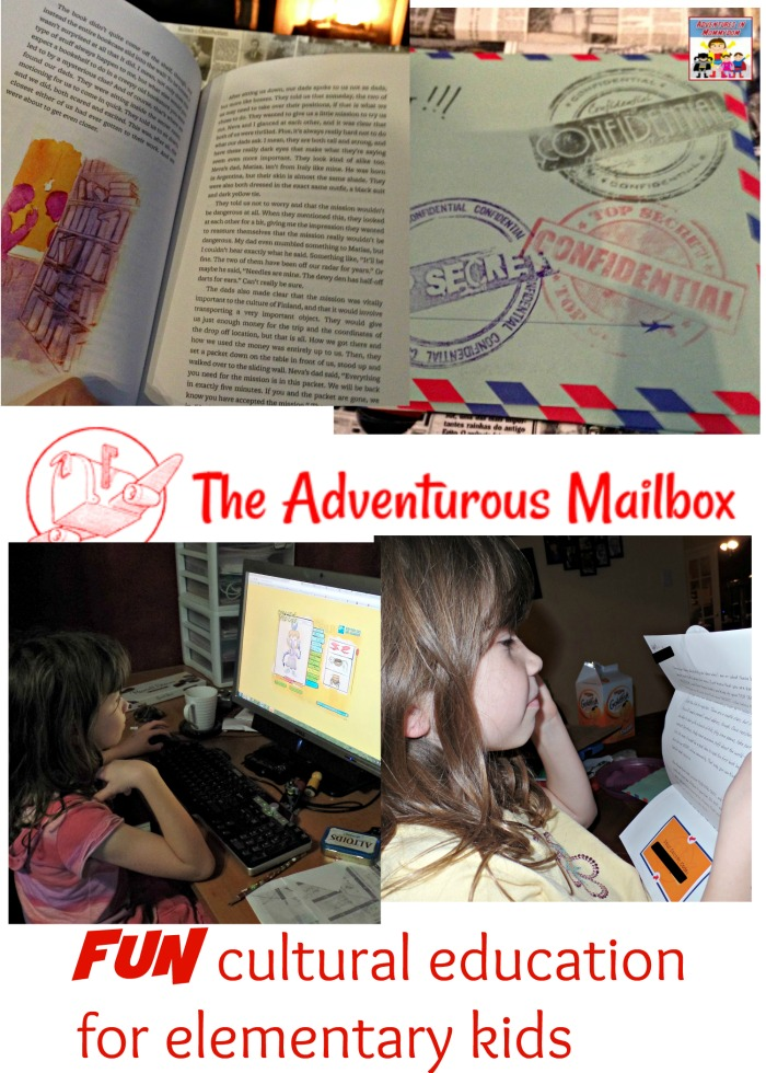 Adventurous Mailbox Fun Cultural Education for kids
