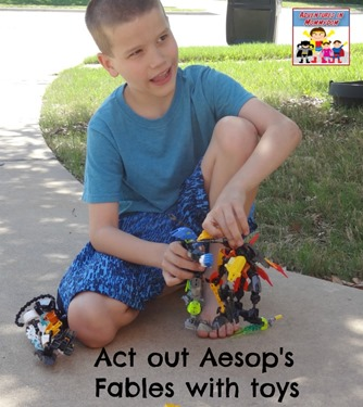 Aesops Fables independent learning project