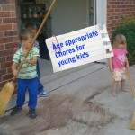 age appropriate chores for young kids