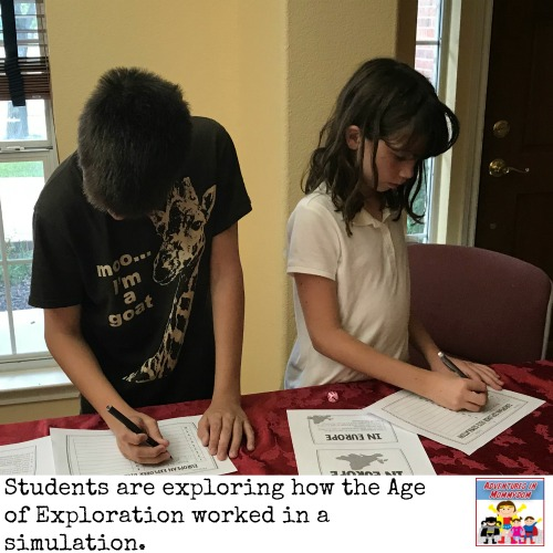 Age of Exploration dice simulation game