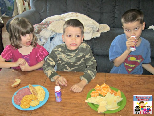 Age of Exploration pretend play eating sailor food