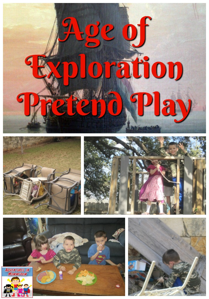 Age of Exploration pretend play