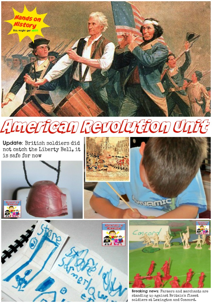 American Revolution unit hands on history