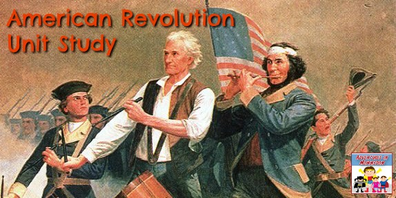 American Revolution unit study for elementary