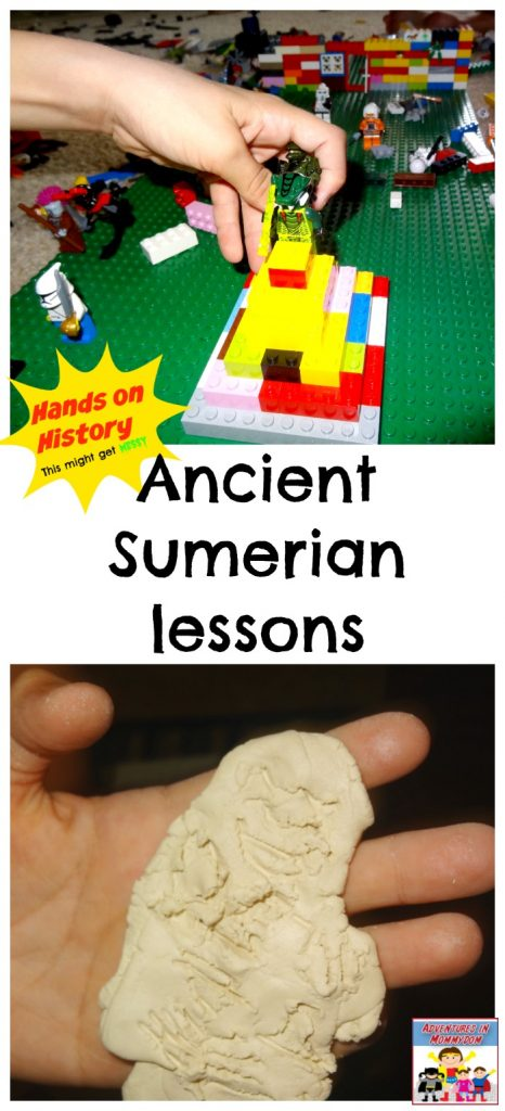 Ancient Sumerian hands on history lessons