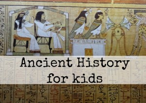 Ancient homeschool history