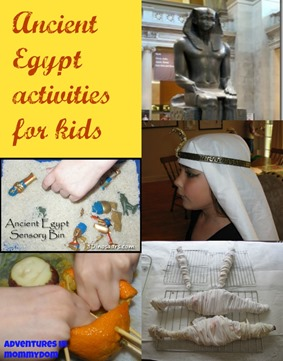 Ancient Egyptian activities for kids