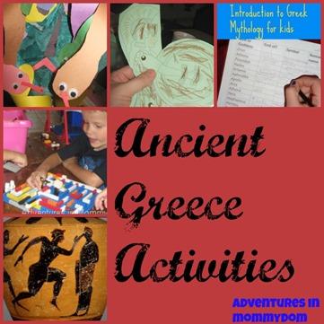 Ancient Greece Activities