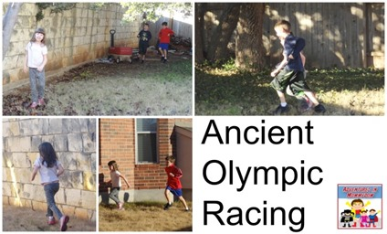 Ancient Olympic racing