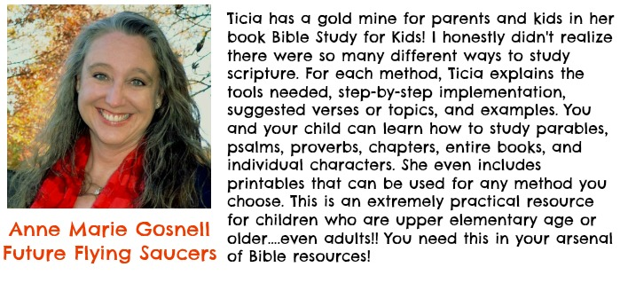 Anne Marie testimonial for How to Study the Bible for kids ebook