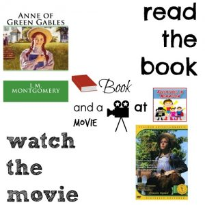 Anne of Green Gables book club book and a movie feature 7th middle