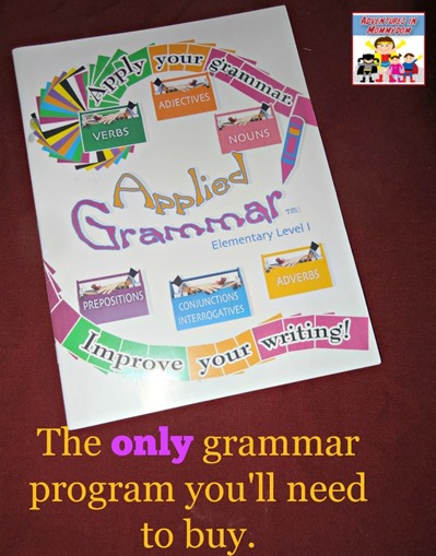 Applied Grammar the only grammar program you'll ever need to buy