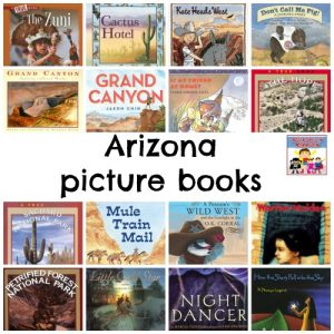 Arizona picture books for state study geography book list