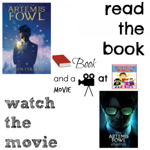 Artemis Fowl book and a movie feature 5th elementary