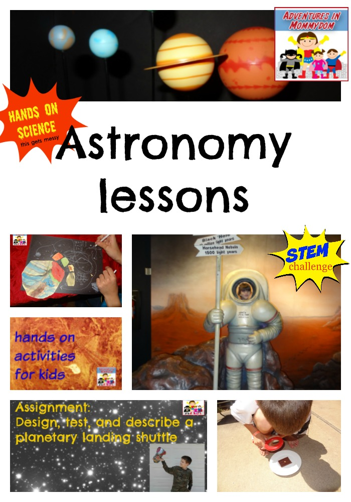 Astronomy lessons