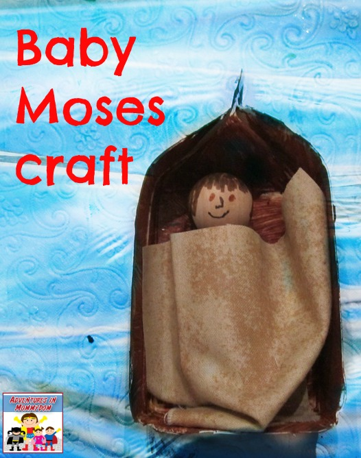 Baby Moses craft