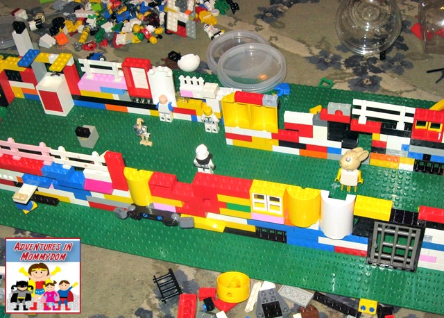 Battle of Jericho in legos