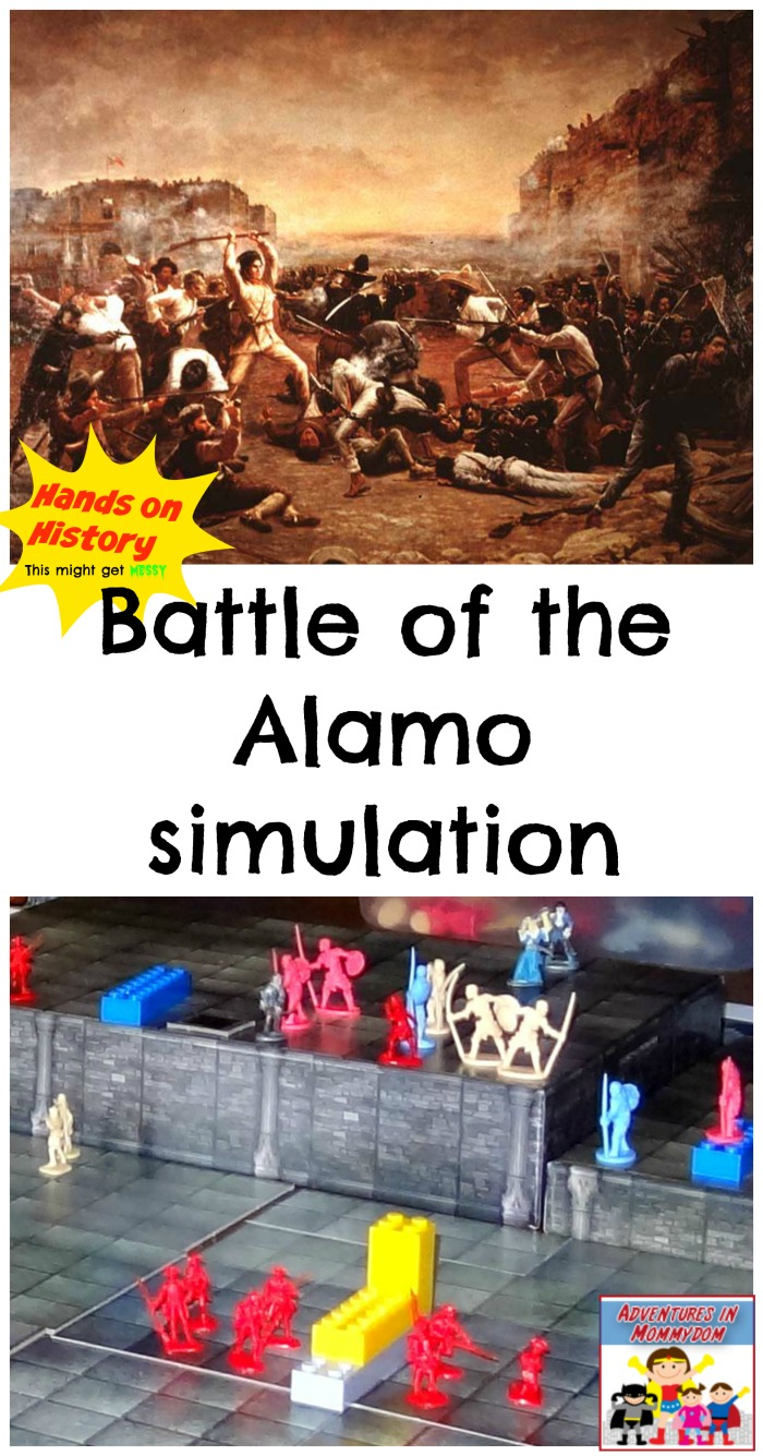 Battle of the Alamo lesson