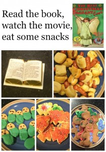 Best Christmas Pageant Ever book and a movie night